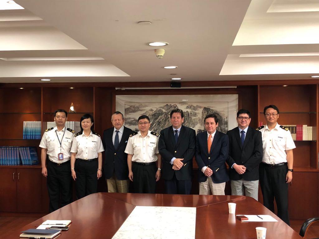 中智双方于首都北京会面,智利梨子有望明年3月抵达中国市场