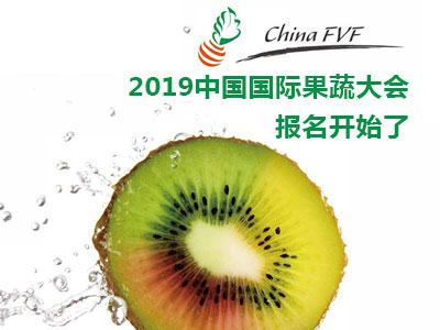 2019中国国际果蔬大会报名开始了