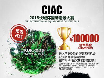 2018长城杯第二届国际造景大赛(CIAC)开赛了  关于CIAC