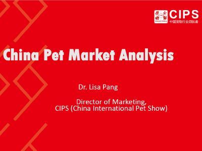 China Pet Market Analysis