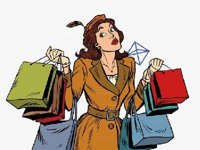 she economy in online shopping