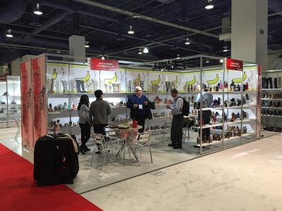 Spring shoe fair February 2016, Las Vegas